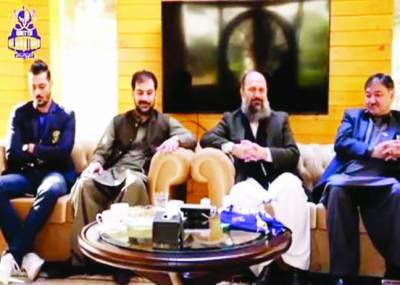 وزیراعلیٰ بلوچستان کوئٹہ گلیڈی ایٹرز کیساتھ کرکٹ کے فروغ کیلئے پرعزم
