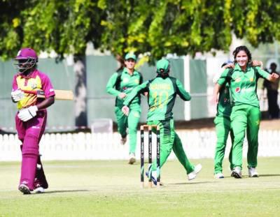 ویمنز کرکٹ: پاکستان نے ویسٹ انڈیز کو دوسرا ون ڈے ہرا کر سیریز برابر کر دی