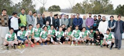 مہران کلب نے روور چیلنج فٹ بال کپ ٹورنامنٹ جیت لیا
