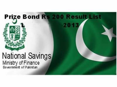 1500 اور 100 روپے مالیت کے قومی انعامی بانڈز کی قرعہ انداز ی 15 فروری کو ہوگی