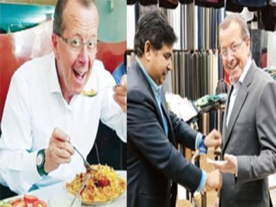 پاکستانی کھانے کھا کر وزن بڑھ گیا، نئے کپڑے سلوانے پڑ گئے، بریانی، نان جلیبی دیکھ کر رہا نہیں جاتا: جرمن سفیر