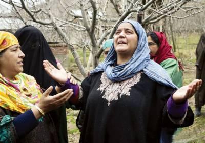 مقبوضہ کشمیر: بھارتی فوج کی نہتے مظاہرین پر فائرنگ، ہندو نوجوان زخمی، ہڑتال، احتجاج جاری