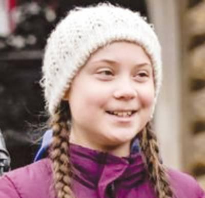 سویڈن کی 16سالہ طالبہ گرتا تھنبرگ امن نوبیل انعام کے لیے نامزد