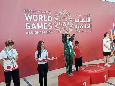 سپیشل اولمپکس ورلڈ گیمز: پاکستانی ایتھلیٹ شانزہ نے چاندی کا تمغہ جیت لیا