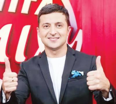 یوکرائن میں صدارتی الیکشن کا پہلا مرحلہ کامیڈین زیلنسکی نے جیت لیا:ایگزٹ پولز