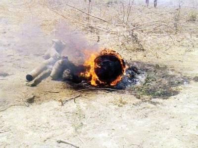 بھارتی فضائیہ ایک اور مگ طیارہ راجستان میں گر کر تباہ، پائلٹ بچ گیا