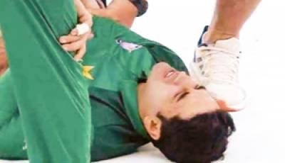 قومی ٹیم کے اوپنر عابد علی زخمی ہونے سے بچ گئے