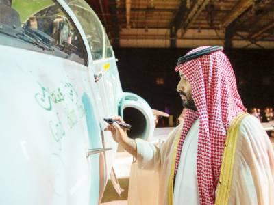 سعودی انجینئرز کے تیار کردہ پہلے ہاک 22 تربیتی طیارے کی آزمائشی اڑان