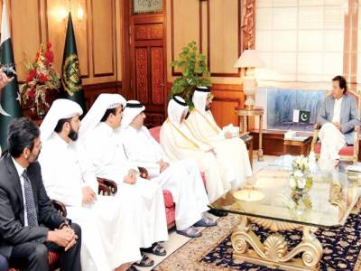 قطر کے تجارتی وفد کی عمران سے ملاقات، سرمایہ کاری کی خواہش کا اظہار