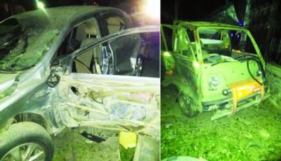کوئٹہ: مسجد کے باہر بم دھماکہ' سکیورٹی پر تعینات 4 پولیس اہلکار شہید' 11 نمازی زخمی