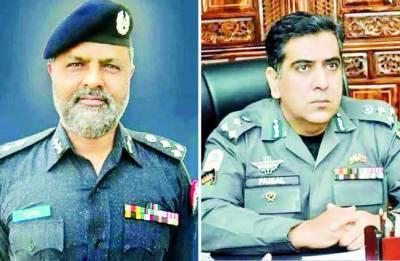 کیپٹن (ر) احسان طفیل آر پی او ،کیپٹن (ر) محمد فیصل رانا سی پی او راولپنڈی تعینات