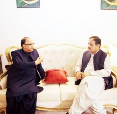 وزیراعلیٰ پنجاب سے آل پاکستان نیوز پیپرز سوسائٹی کے سیکرٹری جنرل سرمد علی کی ملاقات