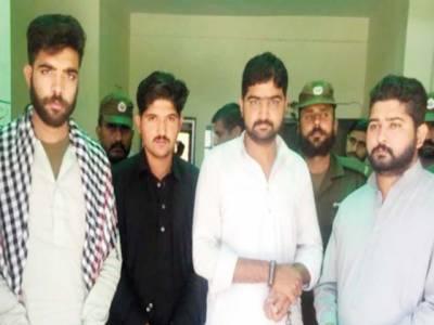 راولپنڈی: طالبہ زیادتی کیس، چاروں ملزموں کا 5 روزہ جسمانی ریمانڈ، ملازمت سے معطل