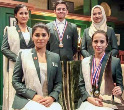 یو کے اوپن چیمپیٔن شپ میں پاکستان کے ترتیب یافتہ طلباء کی شاندار کامیابی