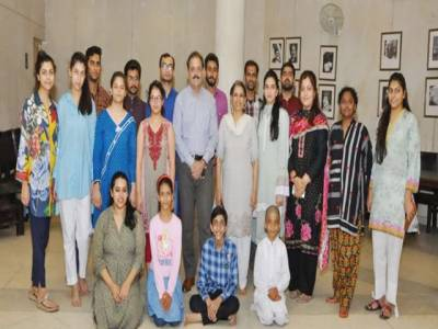 لاہور آرٹس کونسل الحمراء کے زیر اہتمام ''چلڈرن تھیٹر ورکشاپ ''کا آغاز