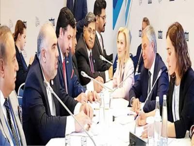 پاکستان روس میں تجارت، تعلقات کے فروغ کیلئے مشترکہ پارلیمانی کمشن بنانے پر اتفاق
