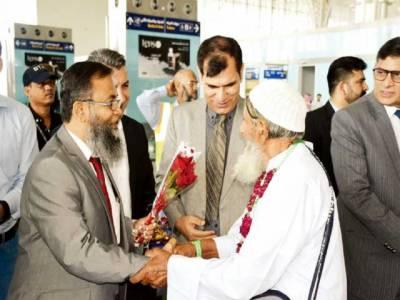 حج آپریشن: لاہور اور اسلام آباد سے نجی پروازیں مدینہ منورہ پہنچ گئیں