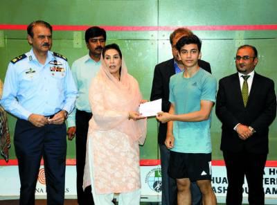 حکومت ملک میں کھیلوں کی بحالی و ترقی کیلئے پرعزم ہے: ڈاکٹر فہمیدہ مرزا