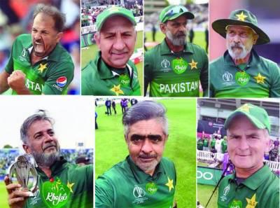 پاکستانی کرکٹرز بڑھاپے میں کیسے نظر آئیں گے؟ سوشل میڈیا پر تصاویر وائرل