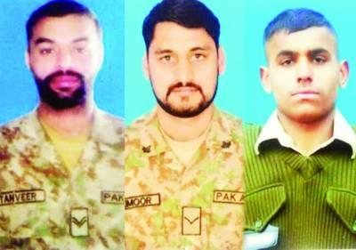 بھارتی یوم آزادی پر ملک گیر یوم سیاہ: کنٹرول لائن' انڈین فوج کی فائرنگ' 3 جوان شہید' جوابی کارروائی میں 5 فوجی ہلاک
