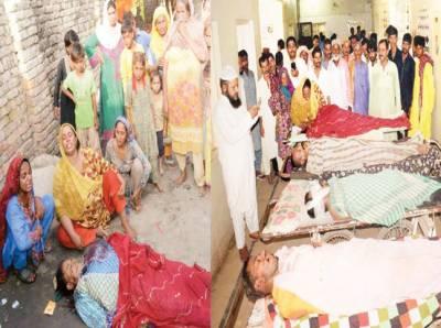 طلاق کا تنازعہ: لاڑکانہ میں فائرنگ' ایک ہی خاندان کے 4 افراد ہلاک' پانچواں زخمی