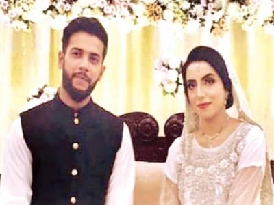 کرکٹر عماد وسیم بھی شادی کے بندھن میں بندھ گئے' فیصل مسجد میں نکاح