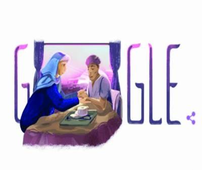 90ویں سالگرہ' گوگل نے ڈوڈل ڈاکٹر رتھ فاؤ کے نام کر دیا