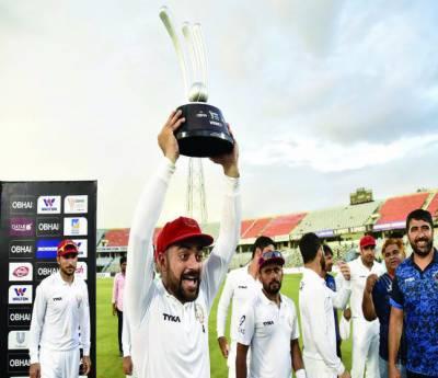 افغانستان کی ٹیسٹ کرکٹ میں دوسری فتح' بنگلہ دیش کو ہرا کر تاریخ رقم کر دی