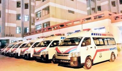 کنٹو نمنٹ جنرل ہسپتال راولپنڈی کوچھ نئی ایمبولینسیں فراہم