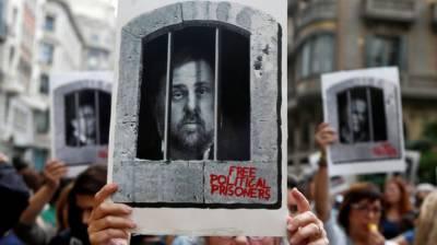 سپین : علیحدگی کی تحریک چلان ے پر کابو تالونیا کے 9رہنمائوں کو سزائیں : مظاہرے پھوٹ پڑے