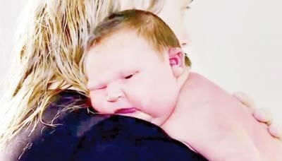 آسٹریلوی خاتون کے ہاں 6 کلو گرام وزنی بچی کی پیدائش