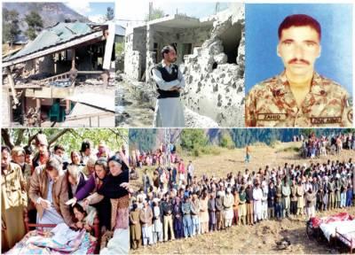 کنٹرولائن: بھارتی بلااشتعال فائرنگ، جوان ، 5شہری شہید، جوابی کاروائی میں 9انڈین فوجی ہلاک