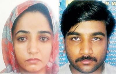 رکشہ ڈرائیور کے قتل کیس میں مقتول کی بیوی اور مالک مکان گرفتار