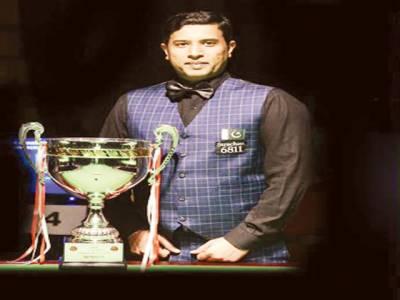 محمد آصف دوسری مرتبہ سنوکر کے عالمی چیمپئن 'جیت کشمیریوں کے نام