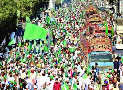 پاکستان بھر میں عید میلاد النبیؐ مذہبی جوش و جذبہ، عقیدت و احترام سے منائی گئی