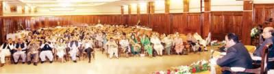 لاہور میں میگاپراجیکٹس کا اعلان ، ویلج پنچایت الیکشن غیر جماعتی ہونگے: عثمان بزدار