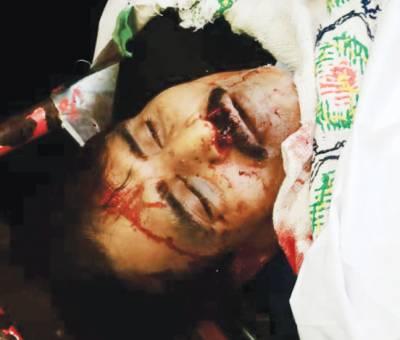 سیالکوٹ: کار پر فائرنگ، سینئر رکن بار قتل، وکلاء کی ہڑتال احتجاجی مظاہرہ