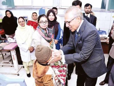 پاکستان کو سرسبز' صاف بنانے کیلئے سب کو کردار ادا کرنا ہوگا: صدر علوی