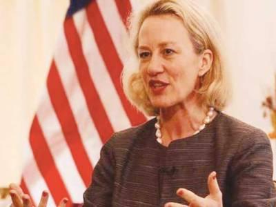 امریکی معاون وزیر خارجہ ایلس ویلز اسلام آباد پہنچ گئیں