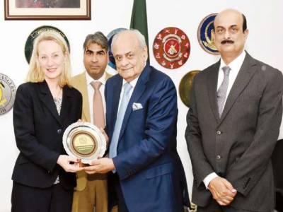 این جی اور رجسٹریشن کا لائحہ عمل مرتب کر لیا: وزیر داخلہ، خوشی ہے پاکستان نے کم وقت میں بہتر کارکردگی دکھائی: ایلس ویلز