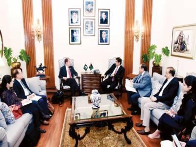وزیراعلیٰ سندھ سے عالمی بینک کے ریجنل ڈائریکٹر کی ملاقات، جاری ترقیاتی منصوبوں پر تبادلہ خیال