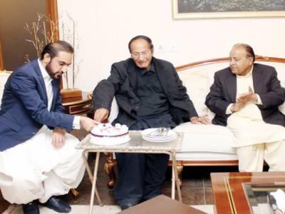 چوہدری شجاعت سے سپیکر بلوچستان اسمبلی، عبد الحمید ڈوگر کی ملاقات