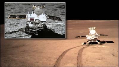 چینی خلائی گاڑی نے چاند پر ریت کی 40 فٹ گہری تہہ دریافت کرلی