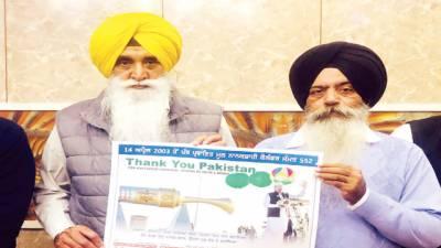 تھینک یو پاکستان: دل خالصہ تنظیم نے نانک شاہی کیلنڈر پر عمران کی تصویر چھاپ دی