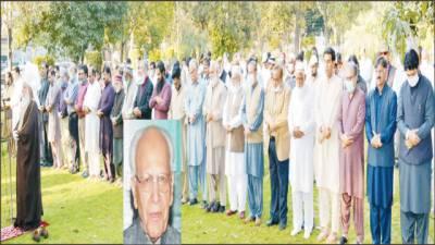 تحریک پاکستان کے سرگرم کارکن 'سابق وی سی پنجاب یونیورسٹی ڈاکٹر رفیق احمد انتقال کر گئے