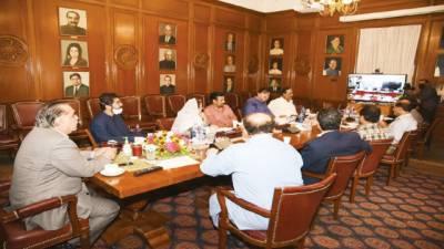 کرونا اور غربت کیخلاف مشترکہ حکمت عملی کے مثبت نتائج مرتب ہونگے: گورنر سندھ