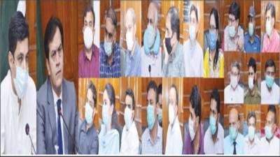 ملکی ادارے کرونا کی روک تھام کیلئے کام کر رہے ہیں:ڈاکٹر شعیب
