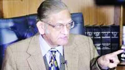 معروف قانون دان اے کے ڈوگر انتقال کر گئے' لاہور میں تدفین