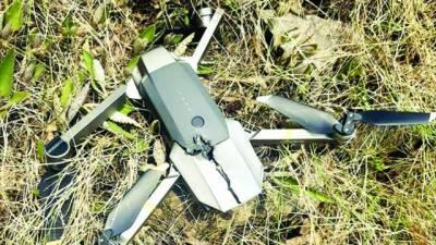 ایل او سی: پاک فوج نے ایک اور بھارتی جاسوس ڈرون مار گرایا