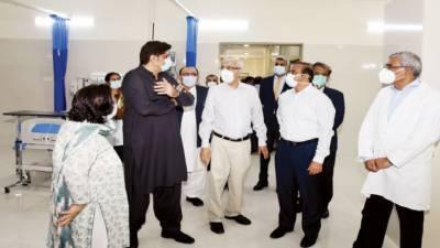 کراچی میں کرونا علاج کیلئے ایک اور اسپتال کل سے فعال ہوگا: وزیراعلیٰ سندھ